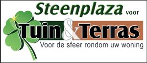 Steenplaza voor tuin en terras Logo